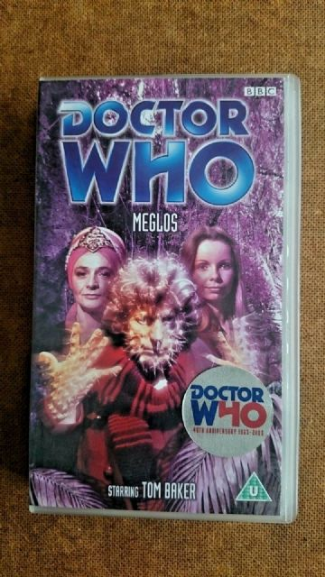 Doctor Who - Meglos (VHS, 2003) - Tom Baker